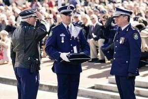 Sergeant Glenn Stirton has been honoured with a valour award.