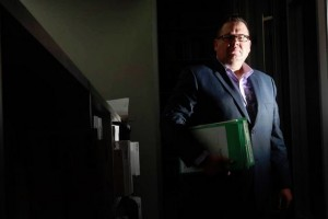 Lawyer John Cox, of Slater and Gordon, says the long wait for claims for psychologically-injured Illawarra police officers is exacerbating their illnesses. Picture: SYLVIA LIBER