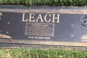 Stephen John LEACH - grave stone