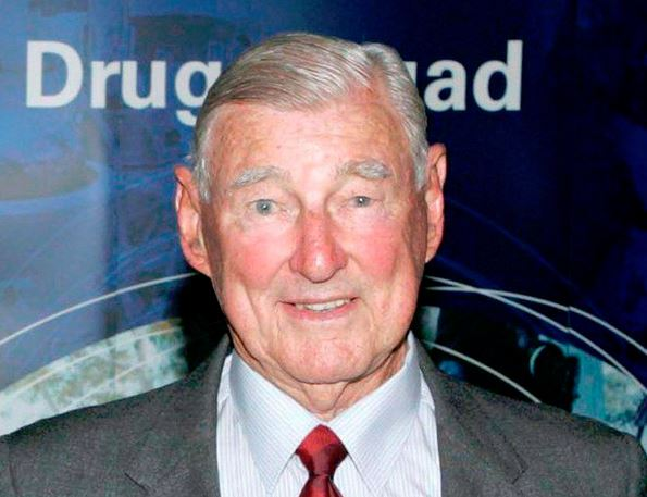 Remembered: Former NSW Police Commissioner, Cecil Abbott AO, QPM, is being farewelled on Wednesday. Picture: Supplied