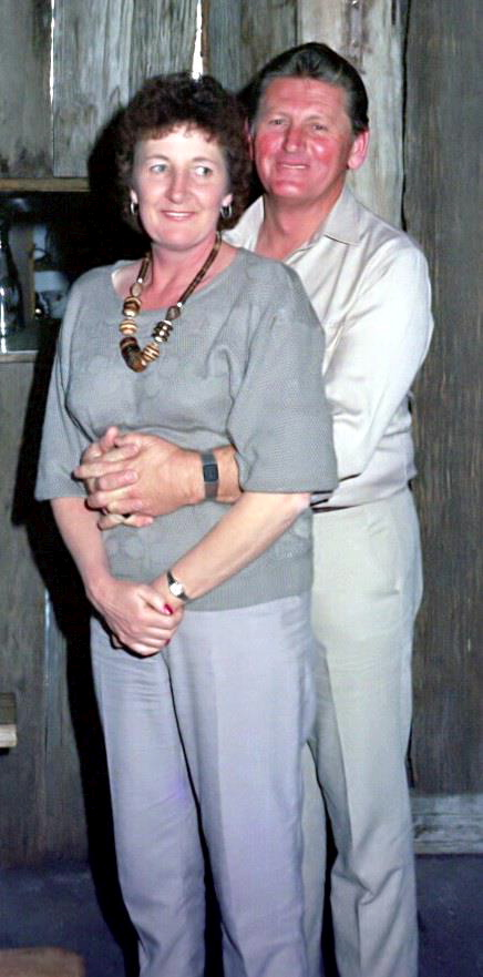 Audrey & Ron FOSTER - Friday 6 September 1985 - Warilla Police Social at Berrima Wool Shed, Berrima, NSW