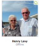 Henry & his wife in a skype photo