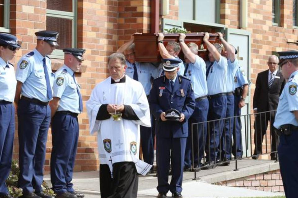 Funeral for Senior Sergeant Malcolm Noel READ