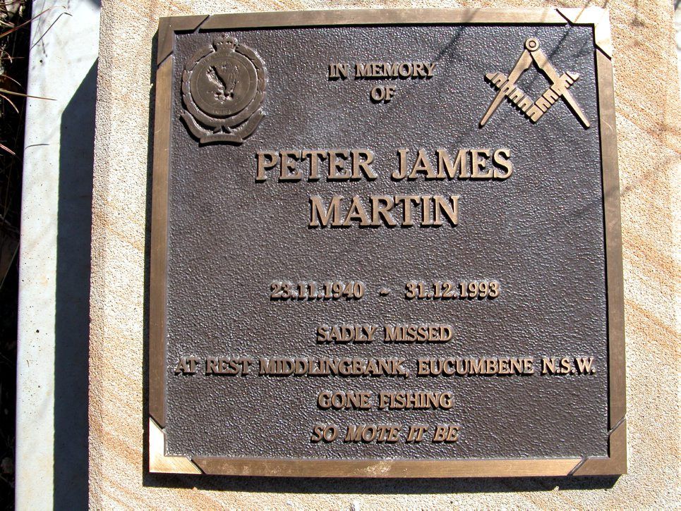 Peter James MARTIN - NSWPF - Died 311293