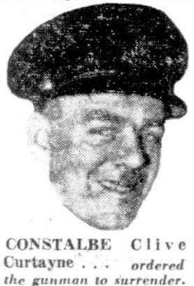 Constable Clive CURTAYNE' - 1954