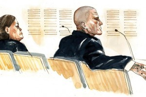 Donna Lee McAvoy, 39, and Phillip Graeme Abell, 41, in the Brisbane Supreme Court.