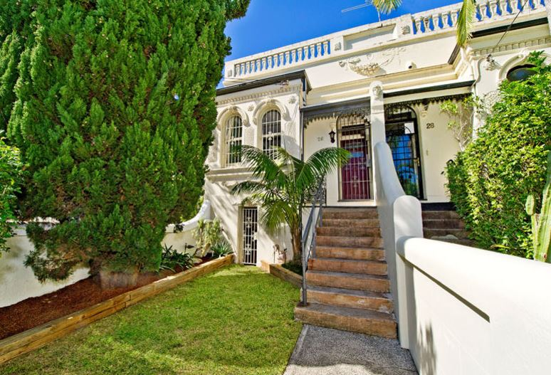 Home of John COADY - 26 Edgecliff Rd, Woollahra, NSW