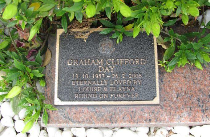 Graham Clifford DAY, Graham DAY