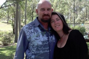 FAMILY MAN: Paul Wilcox and his wife Jen are hopeful the fundraising dinner will help to cover medical expenses.