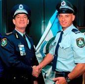 Commissioner Andrew Scipione with SenCon Paul Wilcox