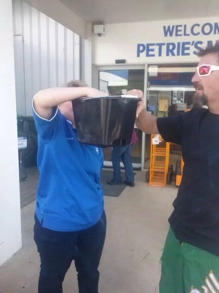 Fund Raising at Petries Mitre 10 - Young.