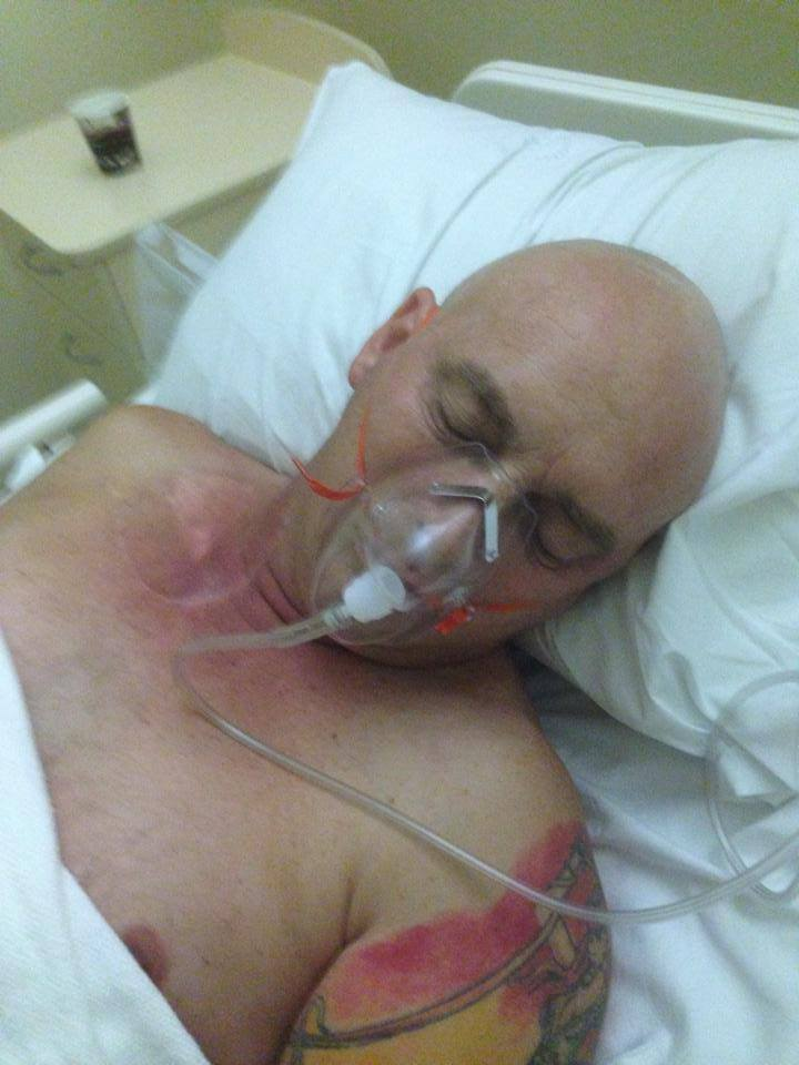 I want to let everyone know that Paul took a sudden and unexpected down turn during the afternoon. He is currently unconscious in Cootamundra Hospital and being transferred through to Wagga first thing in the morning for brain scans. Drs are not sure what has happened, but feel it may be either a blood clot in the lung or brain, or a bleed on his brain. I will let you all know more when I know.