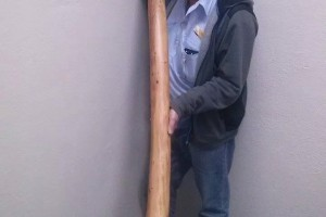Hi everyone. Our wonderful friend Kamahl has organised an authentic Didgeridoo to raffle off for the fundraiser that was kindly donated by Murray Izzard. A bit of info: Its white box, cut 3 years ago green and dried over a 2 year period, food grade mouth piece, Low A key, deep resonant sound and oil finished. The raffle for the beautiful piece of art will be drawn on the night if the dinner. Should you wish to purchase tickets please contact Kamahl direct on 0408867666. Thanks again Kamahl.
