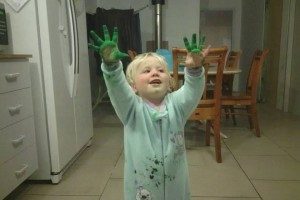 21 May 2013 I touched uncle Paul. Now I glow green like him. (Stolen from Jennifer Lukins)