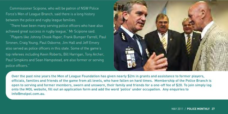 Brian 'Chicka' Moore 4 - NSWPF - Died 26 Oct 2014