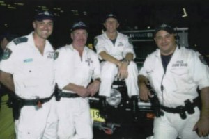 David James GUFF - 2nd from left. Pennant Hills Rescue Squad.