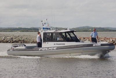 "Qld Police Vessel ""D.TRANNORE"" - Brisbane"