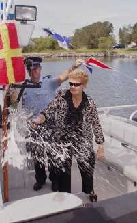 Widow of the late Constable Desmond Trannore launches the D Trannore III