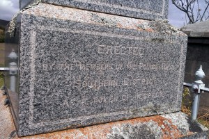 John Waistill ORRIDGE - Grave