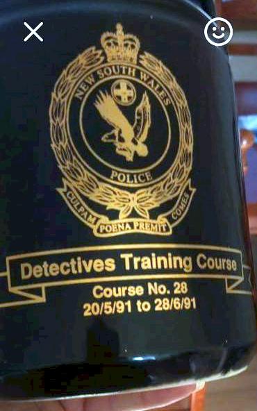 Scott Andrew NICHOLSON - Detectives Course # 28/1991