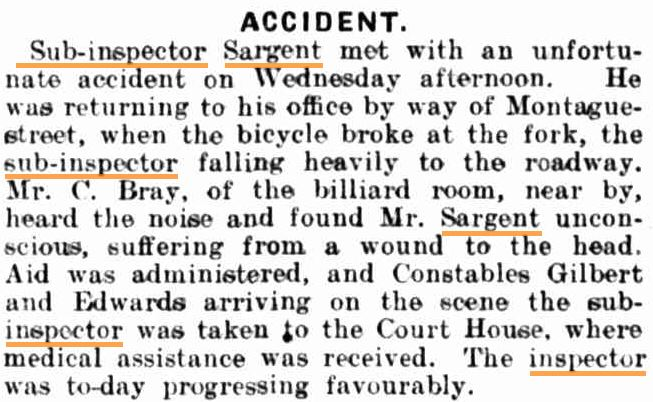 Goulburn Evening Penny Post ( NSW ) Thursday  5 December 1912 page 2 of 4
