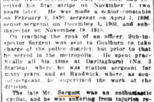 Evening News ( Sydney ) Monday 8 September 1913 page 1 of 10