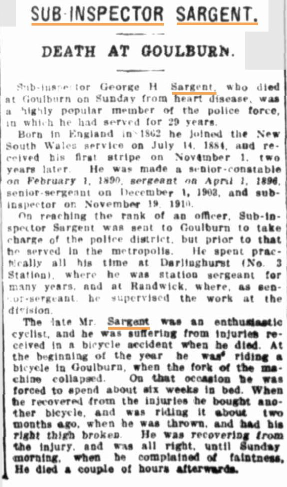 Evening News ( Sydney ) Monday  8 September 1913 page 1 of 10