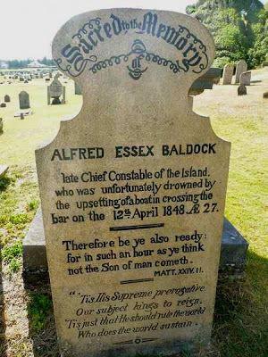 Alfred Essex BALDOCK - grave stone - Norfolk Island