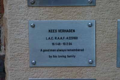 Leading Aircraftman Kees Verhagen
