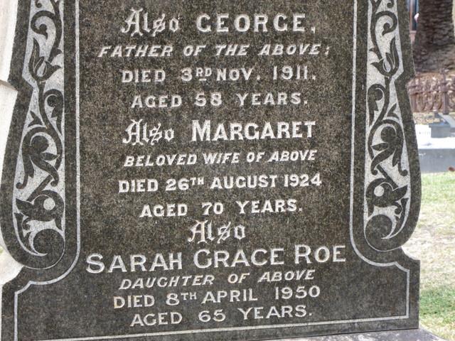George JEFFES - Gravestone