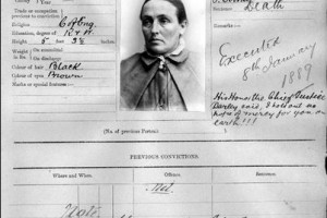 Louisa Collins - last woman hanged in NSW
