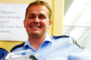 Problems in the force ... Constable Nathan Hearps fell to his death on Sunday