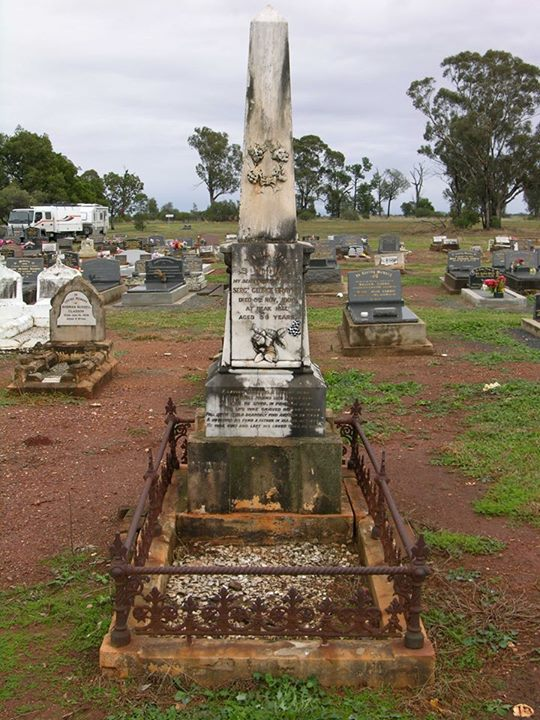 George Brayne grave
