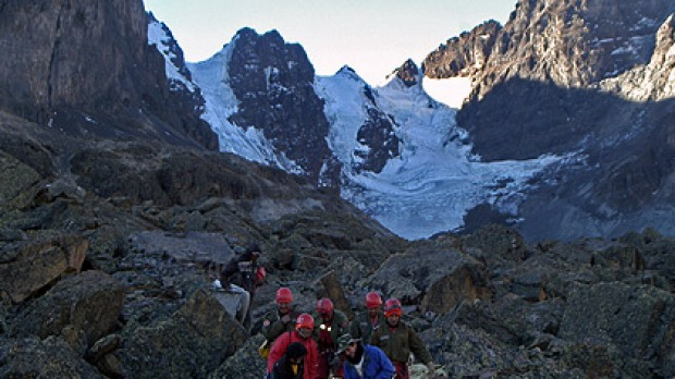 Brisbane man Peter Cornelius Wiesenekker was near the top of the 5,700-metre Tuni Condoriri when he plunged about 200 metres. Photo: AP Photo, Franz R. Chavez