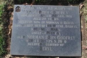 Kym Andrew GODFREY - grave stone