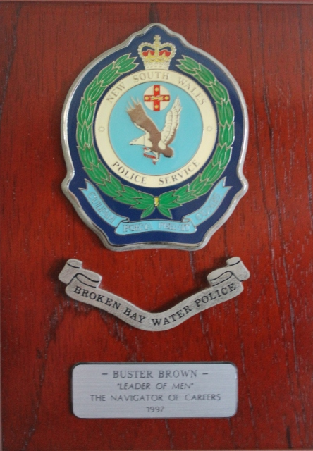 Roper Lars Scott BROWN 13 - NSWPF - Died 25 December 2014