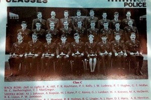 NSW Police Cadet Class 159 of 1978 - Passing Out Parade