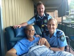 Peter Jamieson and Hurstville Police