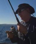 Peter Jamieson - fishing