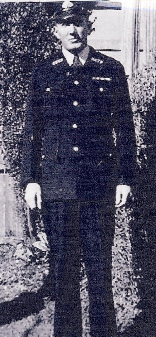 Ronald William John SCOTT  NSW Police - 1950