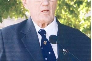"Ronald William John SCOTT N.S.W. Association President Reciting the ""Ode"""