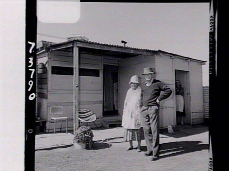 "Alexander ""Tracker"" Riley, NSW Police sergeant & Ethel Riley."