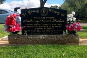 Grave of Anthony David STREHER