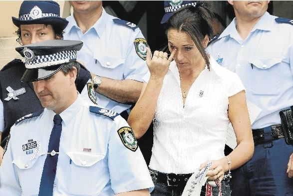 Shirlena Gallagher, wife of the late Senior Constable Bruce Gallagher, joined police yesterday in remembering those lost. Picture: WAYNE VENABLES