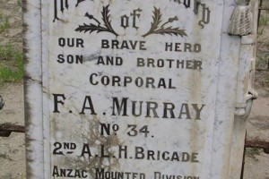 Grave of F. A. Murray