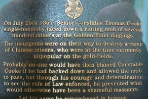 Senior Constable Thomas Cooke : 28-May-2011