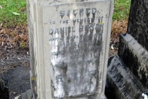 Grave of Daniel HOGAN