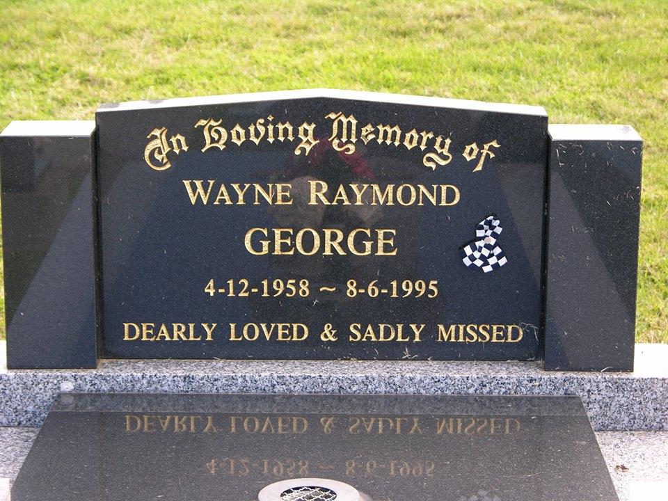 Wayne Raymond GEORGE - Grave