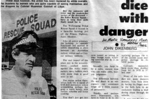 6 MARCH 1982 SGT TED DOHERTY