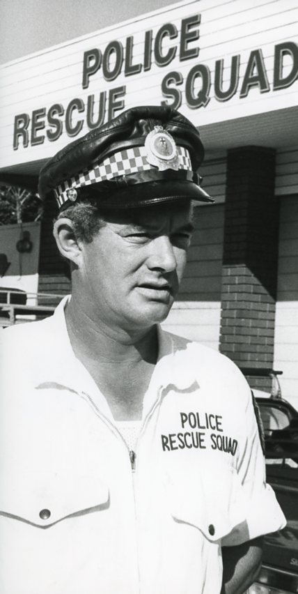 Wollongong Police Rescue Squad leader, Sergeant Ted Doherty, 6 March 1982.